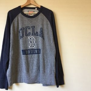 Mens Cozy UCLA Weathered Graphic Sweatshirt